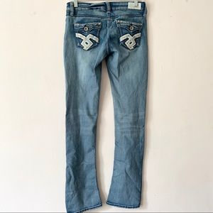 Hydraulic Jeans - Hydraulic Bailey Low Rise Embellished Jeans
